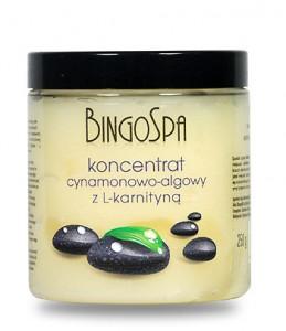Koncentrat cynamonowo - algowy BingoSpa z L-karnityną